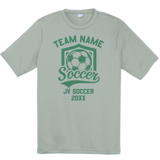 School Soccer Team Performance Tee