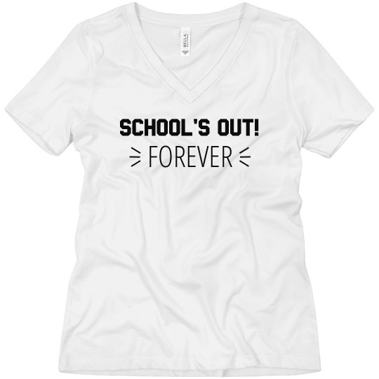 School's Out Forever Top