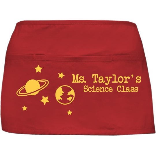 Science Waist Apron