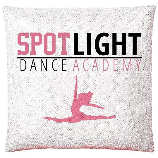 SDA Flip Sequin Pillow