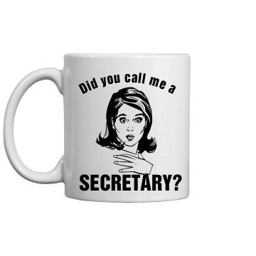 Secretary Slip Mug