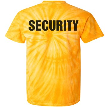 Security Back Print