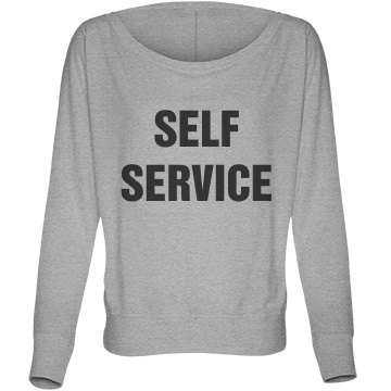 SELF SERVICE Dolman Long Sleeve