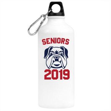 Senior 2018 Water Bottle