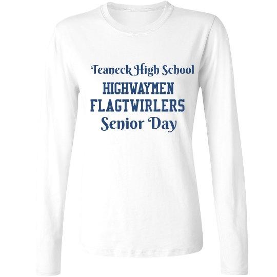 Senior Day Long Sleeve Women's Shirt