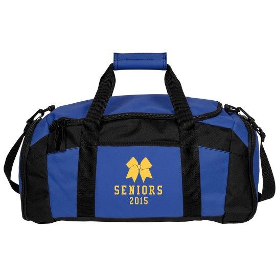 Seniors Cheer Bag Duffel With Custom Name