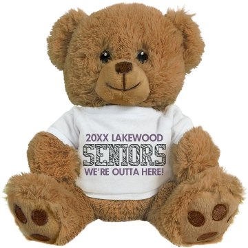 Seniors Graduation Bear