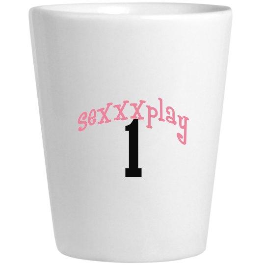 seXXXplay shot glass