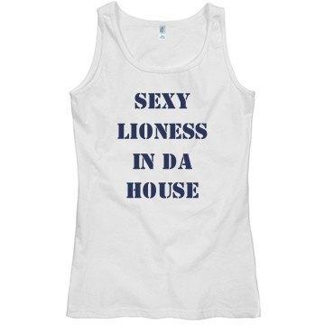 Sexy Lioness In Da House