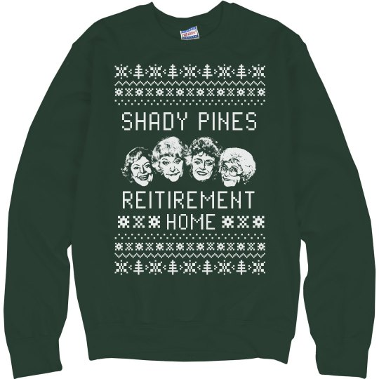 Shady Pines Ugly Chrismas Sweater