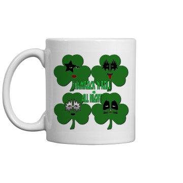 Shamrock & Roll All Night Mug
