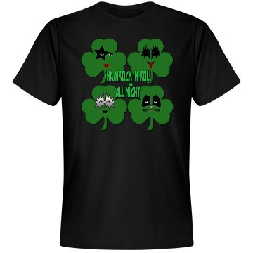 Shamrock & Roll All Night Tee