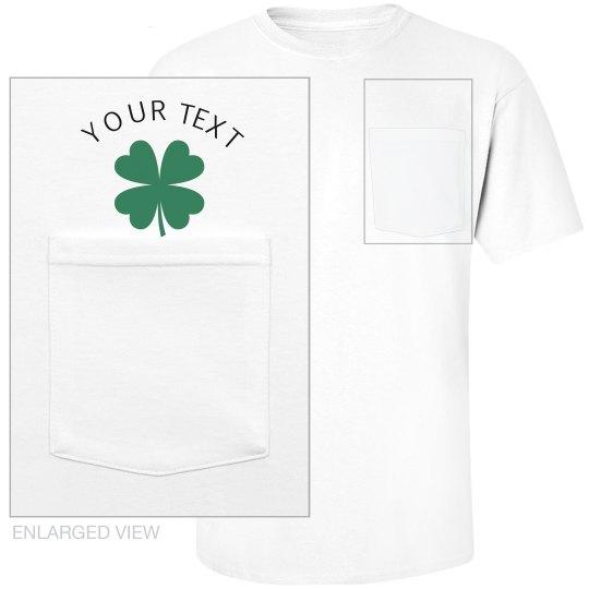 Shamrock Pocket T-Shirt