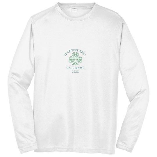 Shamrock Race Run Custom Shirts