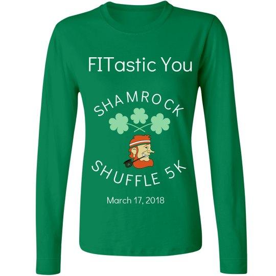 Shamrock Shuffle 5K 2018 long sleeve