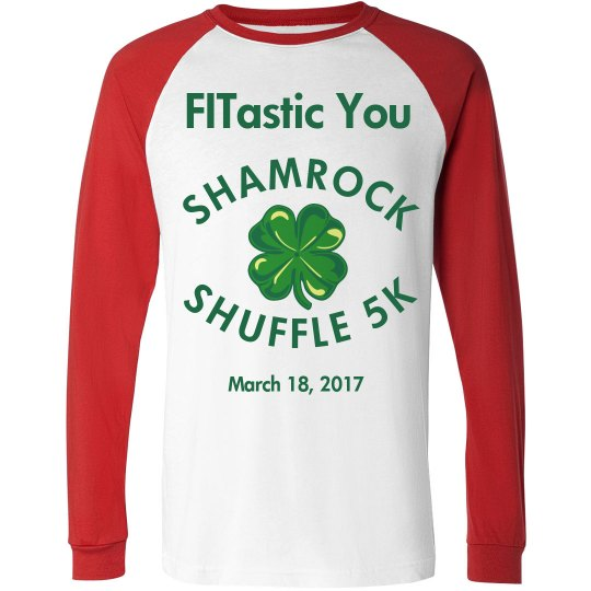 Shamrock Shuffle 5K long sleeve