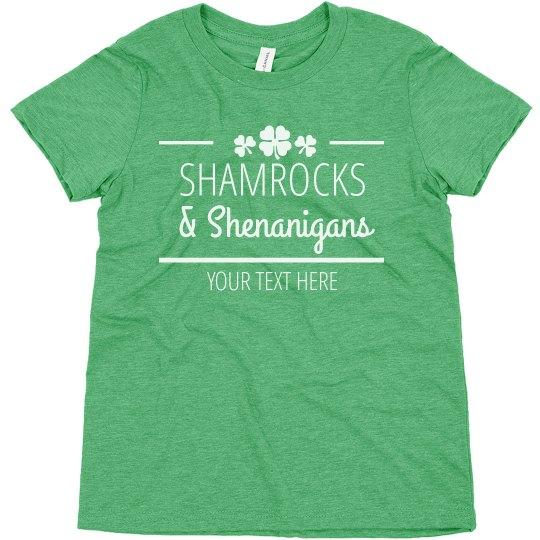 Shamrocks & Shenanigans Youth Top