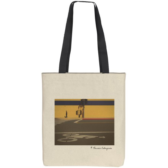 Share the road (tote bag)