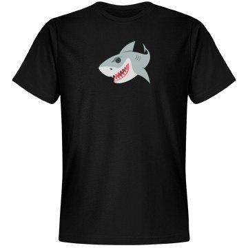 Shark Emoji Unisex Next Level Premium Tee