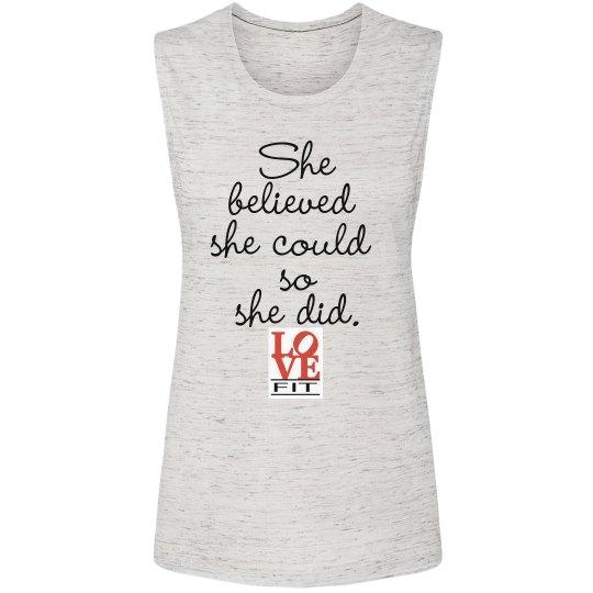 She Believed LoveFit
