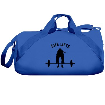 She Lifts Duffel/Gym Bag