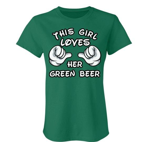 She Loves Green Beer