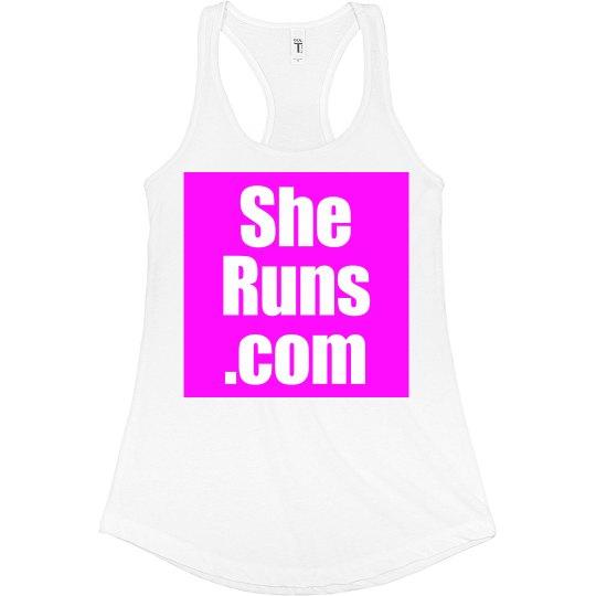 She Runs Official Tank
