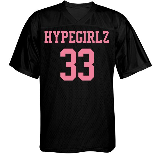 sheezys girl football jersey