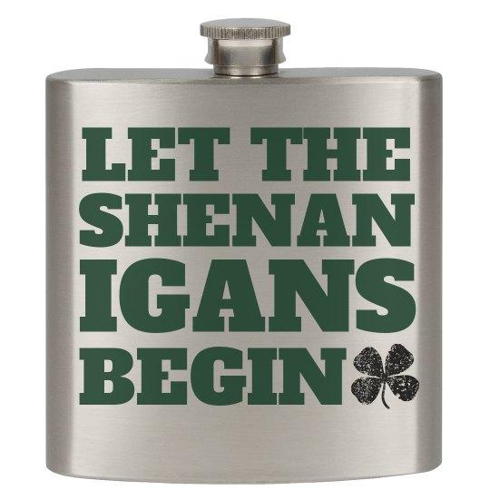 Shenanigans On St. Patty's Day