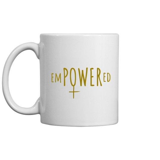 SheNOW #EMPOWERED - mug