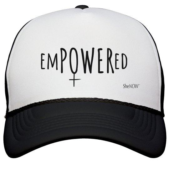 SheNOW #EMPOWERED - trucker hat