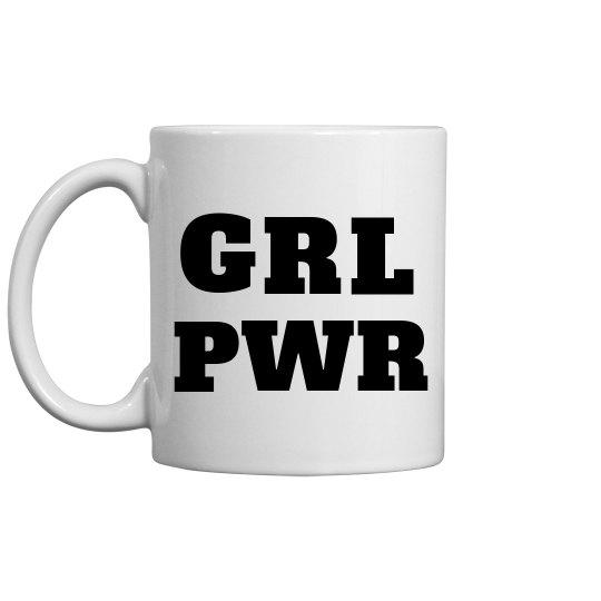 SheNOW GRL PWR MUG