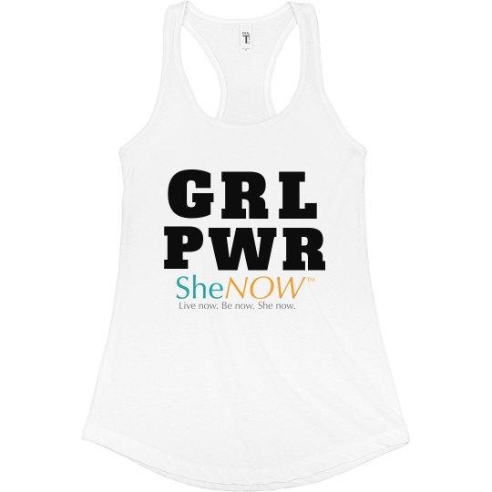 SheNOW GRL PWR Tank