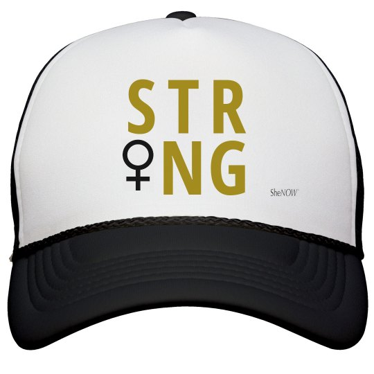 SheNOW #STRONG - trucker hat