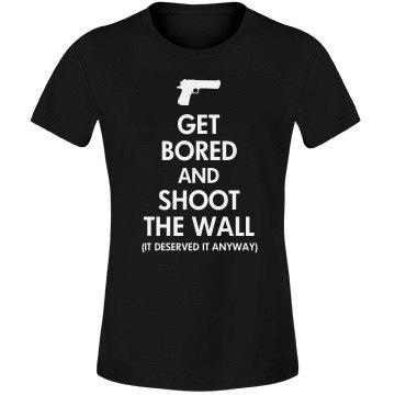 Sherlock Shot the Wall
