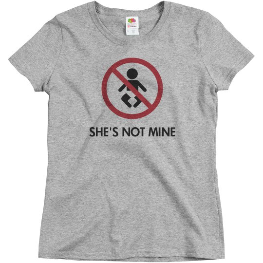 She's not mine