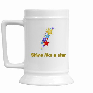 Shine like a star gold cup