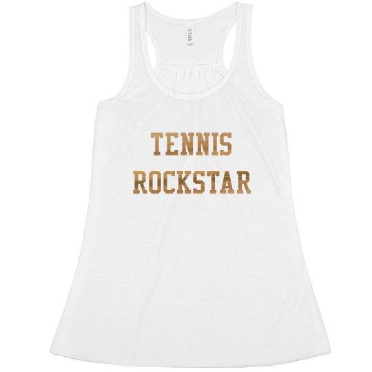 Shiny Tennis Rockstar  The Jen