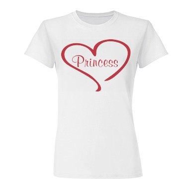Shirt That Says Princess