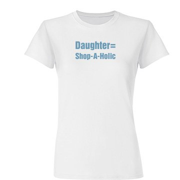 Shop A Holic Daughter Tee