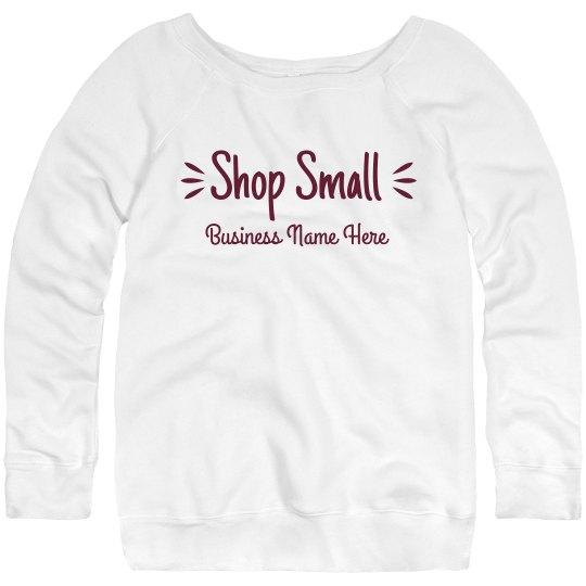 Shop Small Custom Sweater