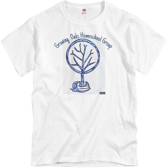 Short sleeve Front acorn tree