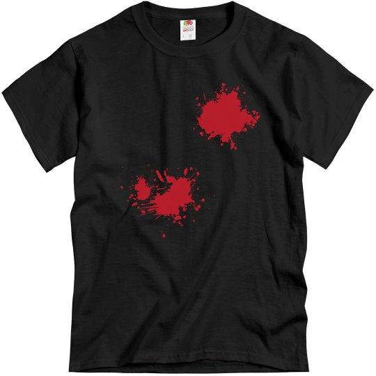 Shot in the back Men's T-Shirt
