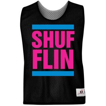 Shufflin LAX Text Jersey