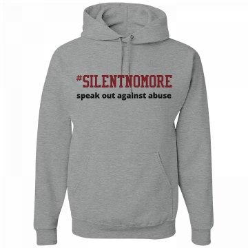 #SilentNoMore Hoodie (grey)
