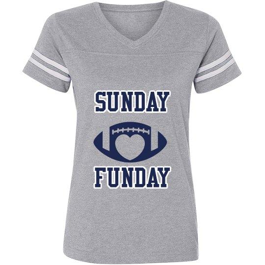 Silver/navy ladies football jersey shirt