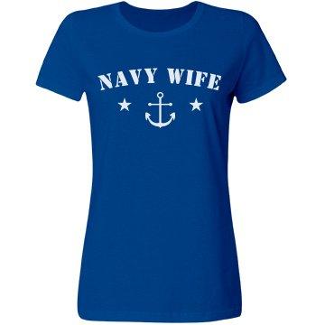 Simple & Cute Navy Wife Design