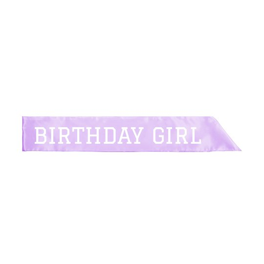 Simple And Cute Birthday Girl