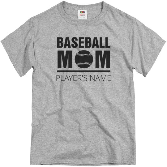 Simple Custom Baseball Mom