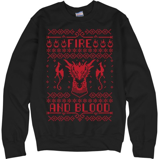 Simple Fire And Blood Design